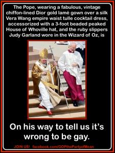 papal garments