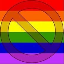 no gays